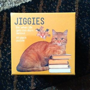 Cat Shaped Jigsaw Puzzle